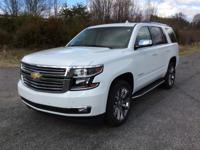 2018 Chevrolet Tahoe 4WD Premier summit white with dune
