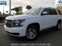 This 2018 Chevrolet Tahoe 2WD 4dr LT is offered to you