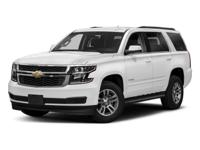 Trustworthy and worry-free, this 2018 Chevrolet Tahoe