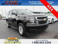 This 2018 Chevrolet Tahoe LT in Black is well equipped