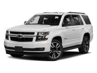 Sturdy and dependable, this 2018 Chevrolet Tahoe