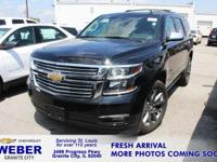 Recent Arrival! Black Chevrolet Tahoe **ANOTHER WEBER