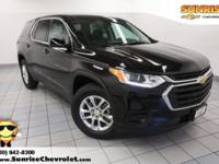 New Price! 2018 Chevrolet Traverse Mosaic Black