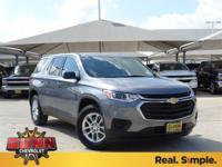 2018 Chevrolet Traverse LS 27/18 Highway/City MPG The