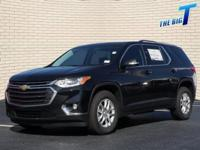 Black Metallic 2018 Chevrolet Traverse LT Cloth FWD