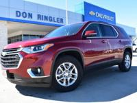 Red Tintcoat 2018 Chevrolet Traverse LT Cloth FWD
