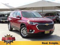 2018 Chevrolet Traverse LT Cloth 27/18 Highway/City MPG