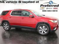 Cajun Red Tintcoat 2018 Chevrolet Traverse LT Leather