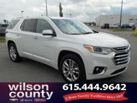 2018 Chevrolet Traverse High Country 3.6L V6 SIDI VVT