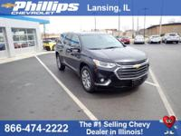Black+Metallic+2018+Chevrolet+Traverse+Premier+AWD+9-Sp