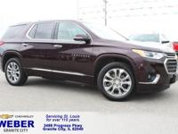 New Price! Recent Arrival! Black Chevrolet Traverse