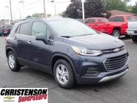 2018 Chevrolet Trax LT Blue Metallic FWD 6-Speed
