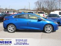 Blue Metallic 2018 Chevrolet Volt Premier FWD 1-Speed