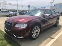 New Price! Burgundy 2018 Chrysler 300 Limited RWD