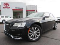 This 2018 Chrysler 300 comes with power seats, heated