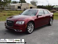 Red 2018 Chrysler 300 Limited RWD 8-Speed Automatic