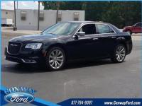 19/30 City/Highway MPG Gloss Black 2018 Chrysler 300
