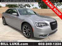 Options:  2018 Chrysler 300 S|Silver|Panoramic