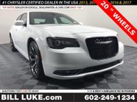 Options:  2018 Chrysler 300 S|White|20  Wheels And