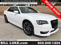 Options:  2018 Chrysler 300 S|White|Moon
