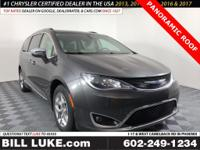 Options:  2018 Chrysler Pacifica Limited|Gray|Panoramic