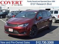 Velvet 2018 Chrysler Pacifica Touring Plus FWD 9-Speed