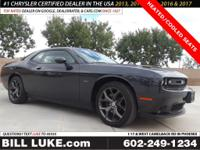Options:  2018 Dodge Challenger R/T|Gray|Heated And