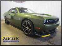 2018 Dodge Challenger R/T Scat Pack F8 Green RWD Tremec