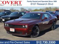 Red 2018 Dodge Challenger SXT RWD 8-Speed Automatic