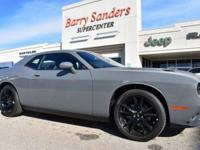 2018 Dodge Challenger SXT 2D Coupe RWD Gray Clearcoat