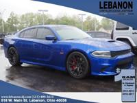 Black. 2018 Dodge Charger R/T 392 Electric Blue