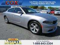 This 2018 Dodge Charger SXT in Granite Pearlcoat is