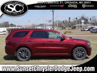Red 2018 Dodge Durango GT RWD 8-Speed Automatic 3.6L V6