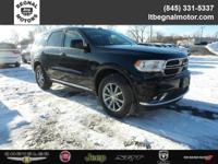 $2,750 off MSRP! 2018 Dodge Durango Black Clearcoat SXT