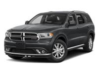 Options:  2018 Dodge Durango Gt|Db Black