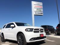 Options:  2018 Dodge Durango Gt|Hurry And Take