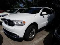 CARFAX One-Owner. White 2018 Dodge Durango SXT RWD