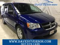Indigo Blue 2018 Dodge Grand Caravan SE FWD 6-Speed