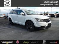 $4,000 off MSRP! 2018 Dodge Journey White Crossroad AWD