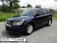 CARFAX One-Owner. Clean CARFAX. Blue 2018 Dodge Journey