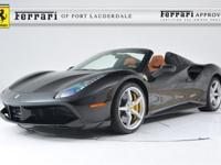 2018 Ferrari 488 Spider - FERRARI APPROVED - CERTIFIED