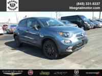 $3,500 off MSRP! 2018 Fiat 500X Blue Sky Metallic