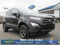 Shadow Black 2018 Ford EcoSport SES 4WD 6-Speed