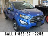 *2018 Ford Eco Sport SES - *Sports Utility Vehicle - I4