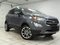 2018 Ford EcoSport Titanium, SYNC 3 with Hands-Free