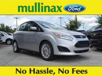 38/42 Highway/City MPG Ingot Silver 2018 Ford C-Max