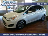 White Platinum Clearcoat Metallic 2018 Ford C-Max