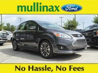 38/42 Highway/City MPG Magnetic 2018 Ford C-Max Hybrid