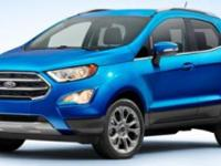 2018 Ford EcoSport SE   We are having our 60th