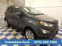 Check out this low mileage EcoSport SE! It's 4WD